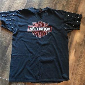 Harley Davidson reconstructed Japan Vintage shirt